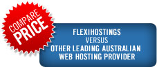 Compare Flexihostings and Other Australian Web Hosting Company